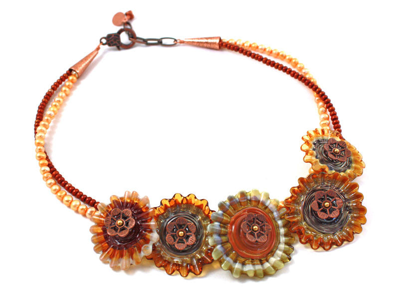 Summer in the Desert Necklace | The Flower Necklace Collection