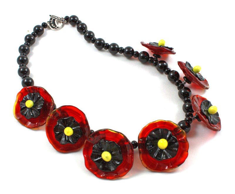 Desert Poppy Necklace | Desert Blooms Collection