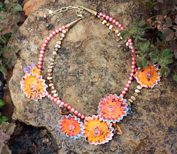 Red Hills Necklace | Desert Blooms Collection