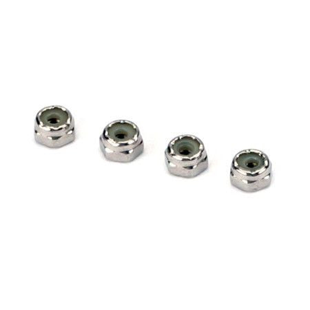 Nylon Insert Lock Nuts (Stainless Steel)