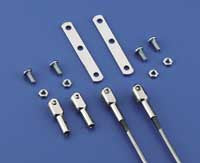 4-40 Steel Rod End Assembly