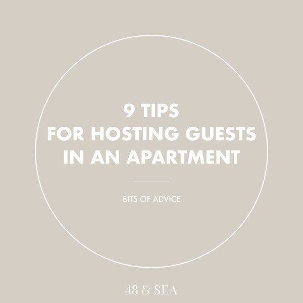 9 Tips for Hosting Guests in an Apartment