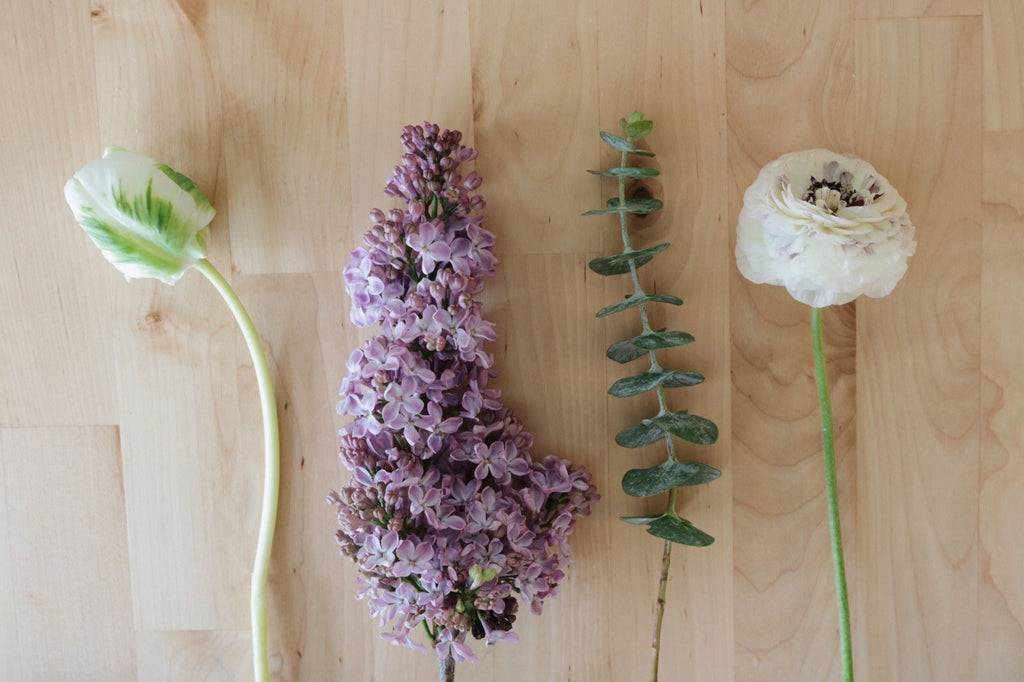 DIY Spring Floral Arrangement: Materials