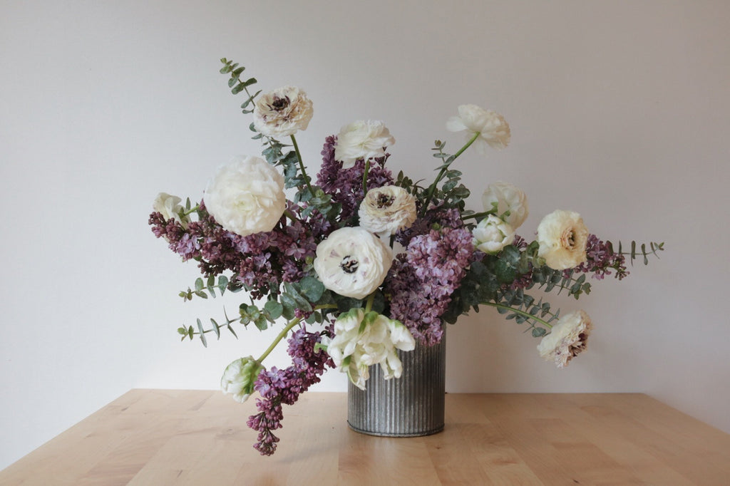DIY Spring Floral Arrangement: Depth & Texture