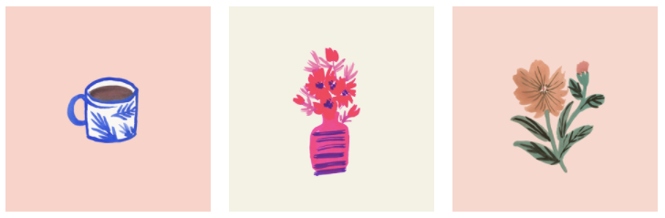 Cristina's Illustrations / Flowers
