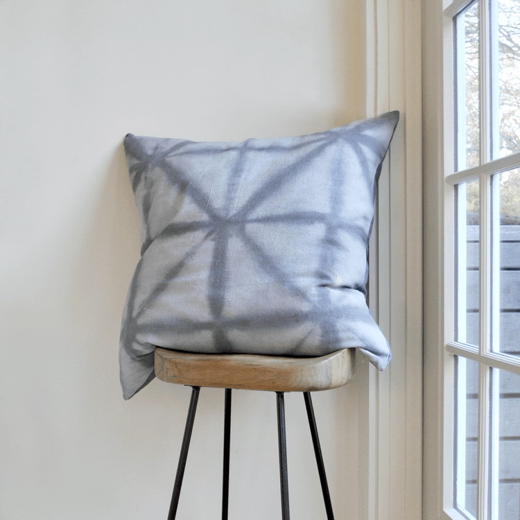Gray Floor Pillow