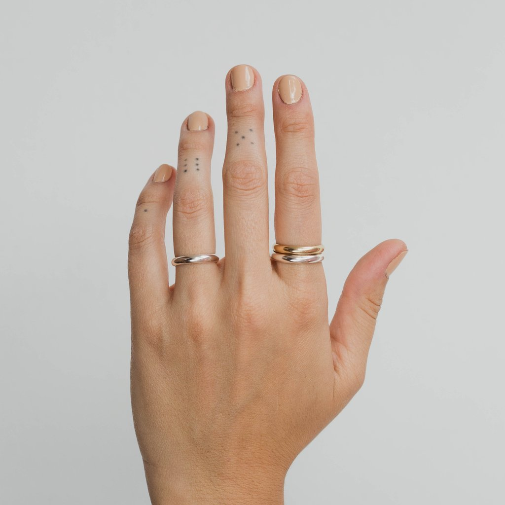 Chunky Stacking Ring