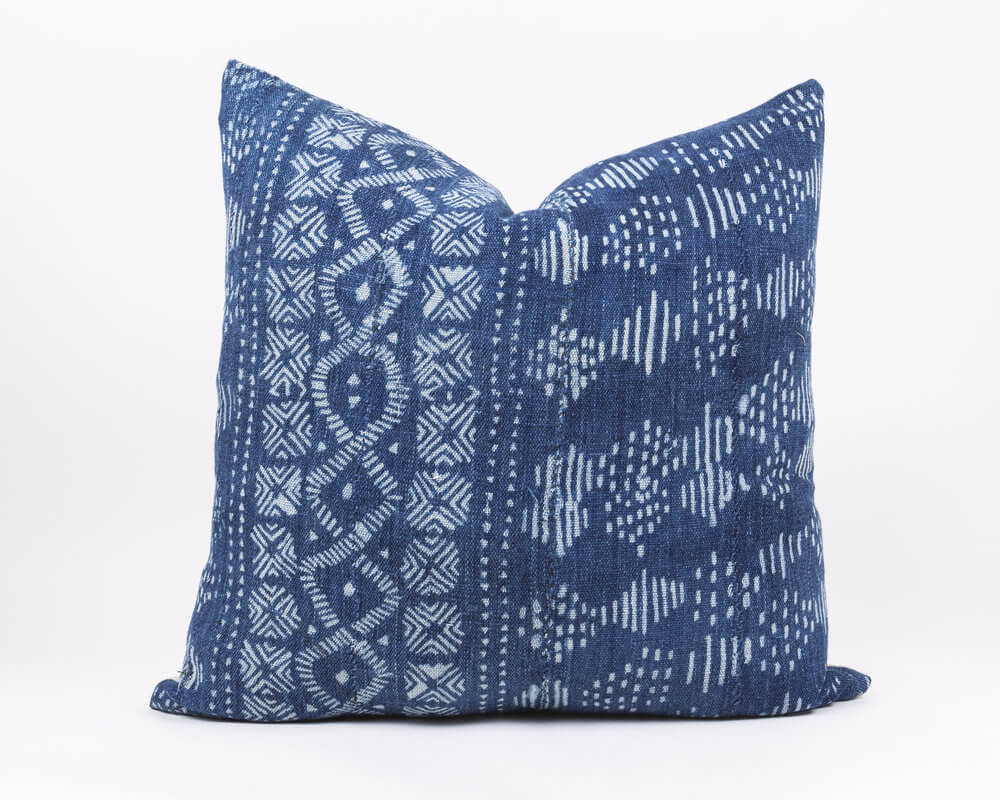Do African Mud Cloth Pillow