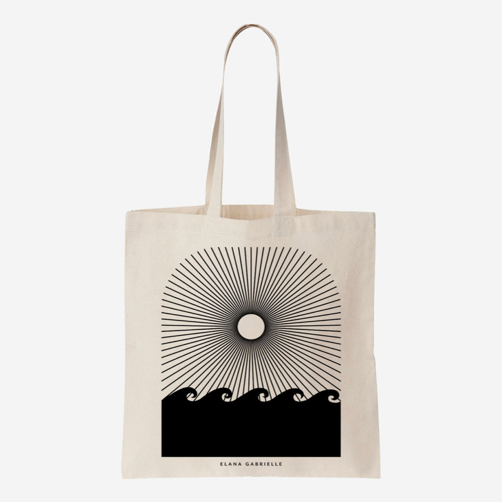 Seaside Canvas Tote