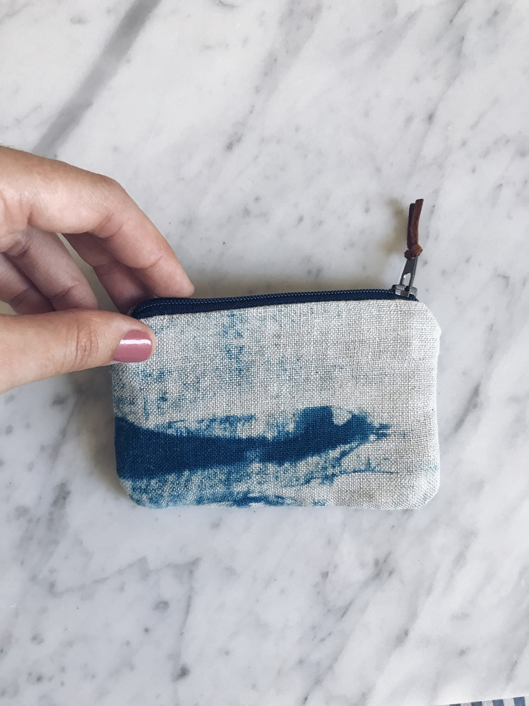 Shibori Coin Purse