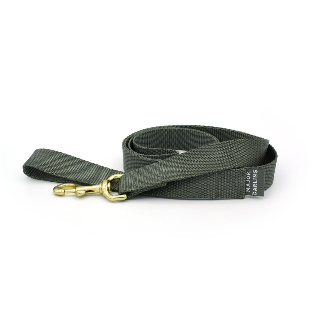 Charcoal Dog Leash