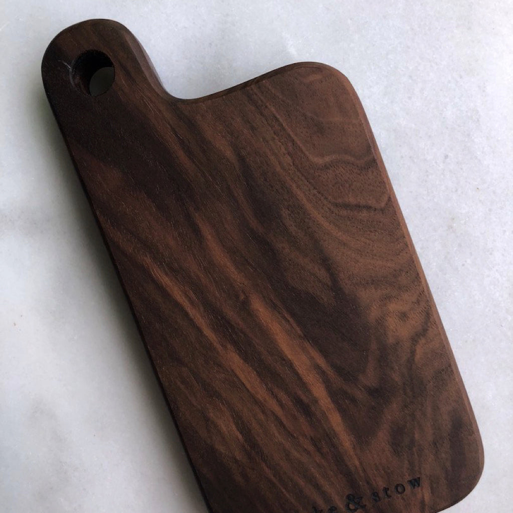 Mini Walnut Serving Board