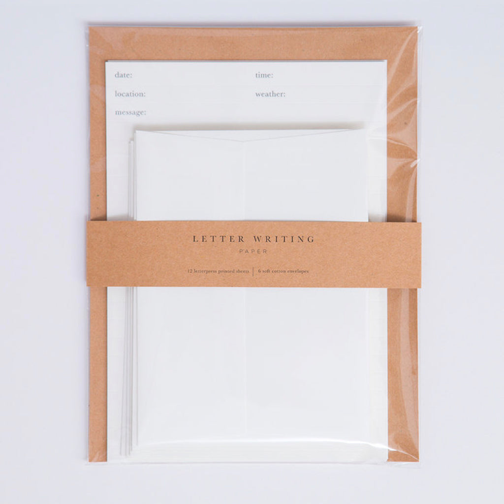 Letter Writing Paper Set