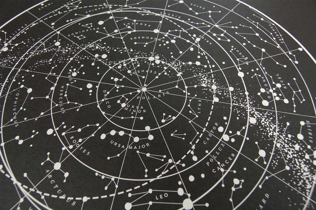 Sagan Star Chart    Sea