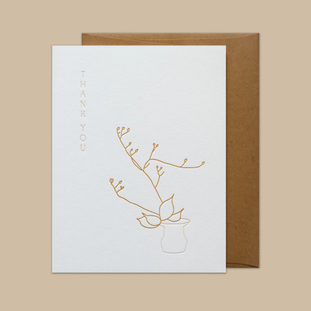Ikebana Greeting Cards, Mixed Box of 8