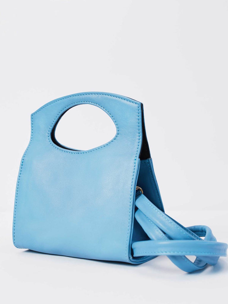 Mini Party Crossbody in Vintage Blue