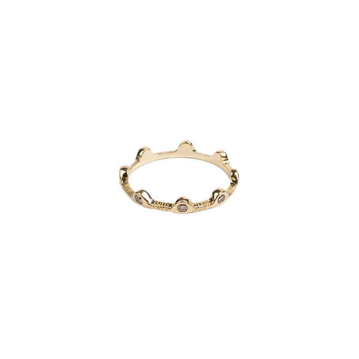 Scallop Eternity Band