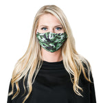 green camo non-medical facemask