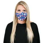Patriotic stars non-medical facemask