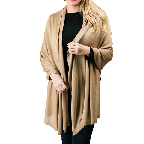 travel-essential-cozy-camel-bamboo-shawl