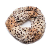 Faux Fur Scarf, Cozy Scarf, Winter Accessories, leopard, trendy, leopard scarf, cheetah print