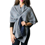 Kate Plaid Keyhole Wrap