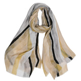 taupe-striped-casual-scarf