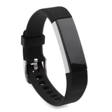 Replacement Watch Strap For Fitbit Alta (Black) - Smash Terminator - 2