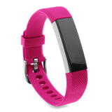 Replacement Watch Strap For Fitbit Alta (Hot Pink) - Smash Terminator - 2