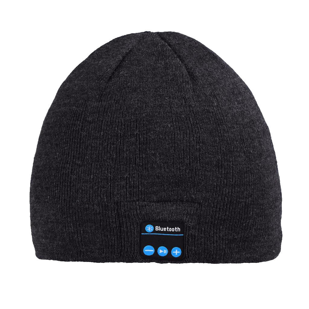 Bluetooth Beanie Hat (Black) - Smash Terminator - 1