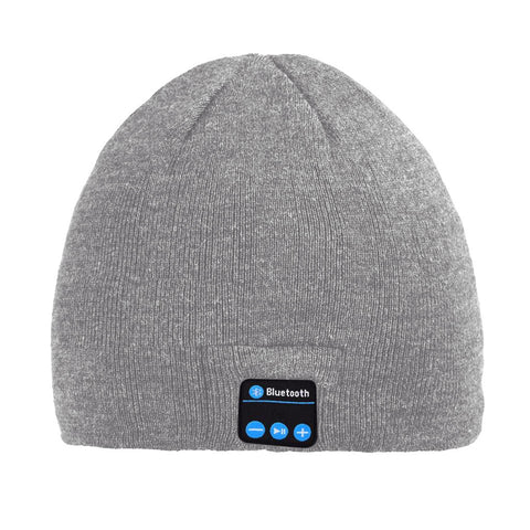 Bluetooth Beanie Hat (Grey) - Smash Terminator - 1
