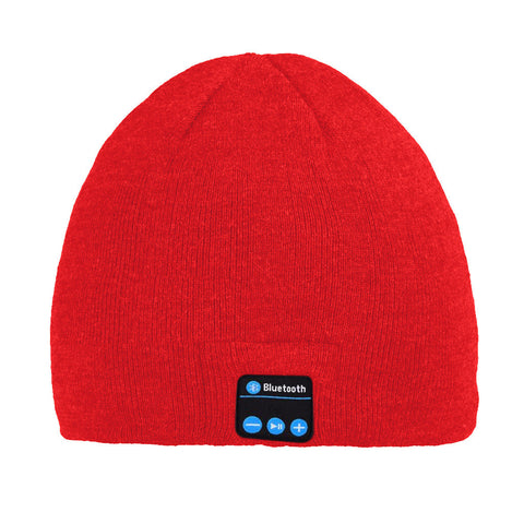 Bluetooth Beanie Hat (Red) - Smash Terminator - 1