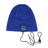 Bluetooth Beanie Hat (Blue) - Smash Terminator - 3