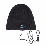 Bluetooth Beanie Hat (Black) - Smash Terminator - 3