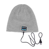 Bluetooth Beanie Hat (Grey) - Smash Terminator - 3