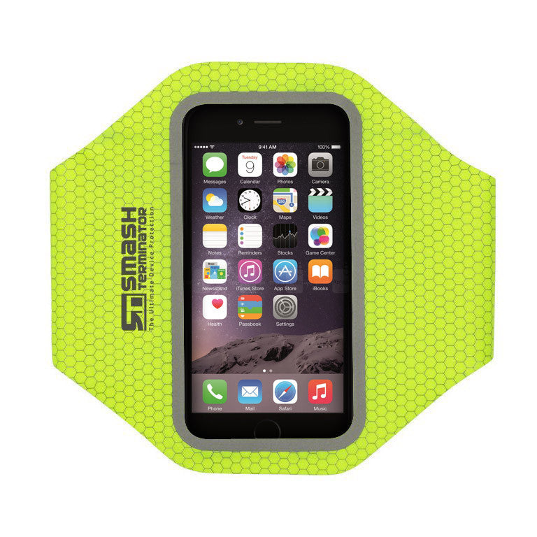 Elite Range Sports Armband - Lime Green - Smash Terminator - 1