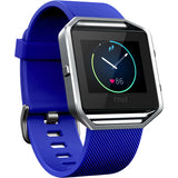 Replacement Watch Strap For Fitbit Blaze (Navy Blue) - Smash Terminator - 1
