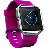 Replacement Watch Strap For Fitbit Blaze (Hot Pink) - Smash Terminator - 1