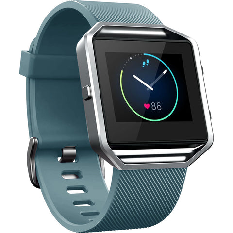 Replacement Watch Strap For Fitbit Blaze (Slate Grey) - Smash Terminator - 1