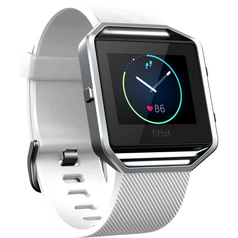 Replacement Watch Strap For Fitbit Blaze (White) - Smash Terminator - 1