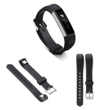 Replacement Watch Strap For Fitbit Alta (Black) - Smash Terminator - 3