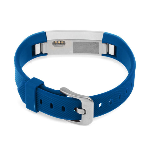 Replacement Watch Strap For Fitbit Alta (Navy Blue) - Smash Terminator - 1