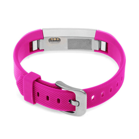 Replacement Watch Strap For Fitbit Alta (Hot Pink) - Smash Terminator - 1