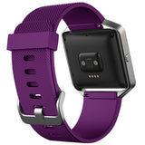 Replacement Watch Strap For Fitbit Blaze (Purple) - Smash Terminator - 2