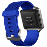 Replacement Watch Strap For Fitbit Blaze (Navy Blue) - Smash Terminator - 2