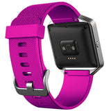 Replacement Watch Strap For Fitbit Blaze (Hot Pink) - Smash Terminator - 2