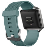 Replacement Watch Strap For Fitbit Blaze (Slate Grey) - Smash Terminator - 2
