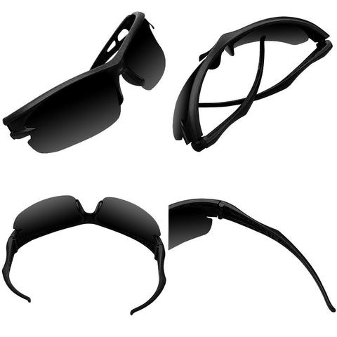 Cycling & Running Sports Shades (Black/Black) - Smash Terminator