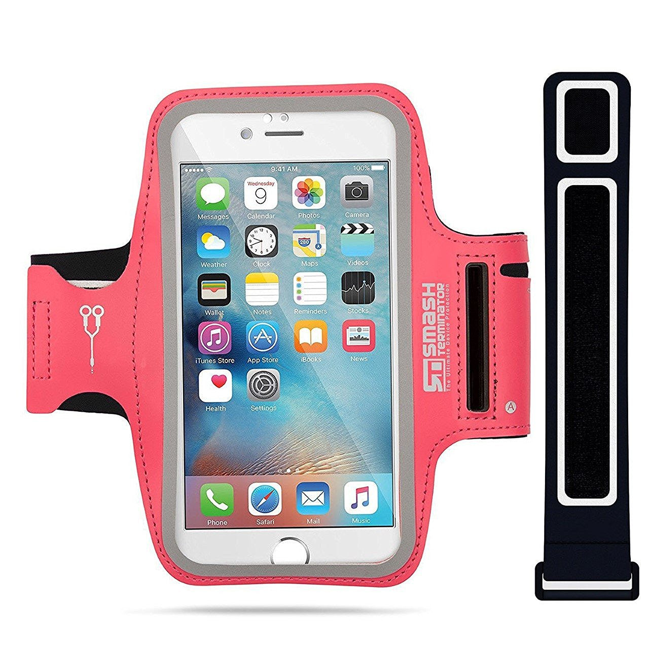 "Pro Series Sports Armband for Latest Smartphones up to 5.2"" display. (Pink)"