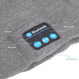 Bluetooth Beanie Hat (Grey) - Smash Terminator - 2
